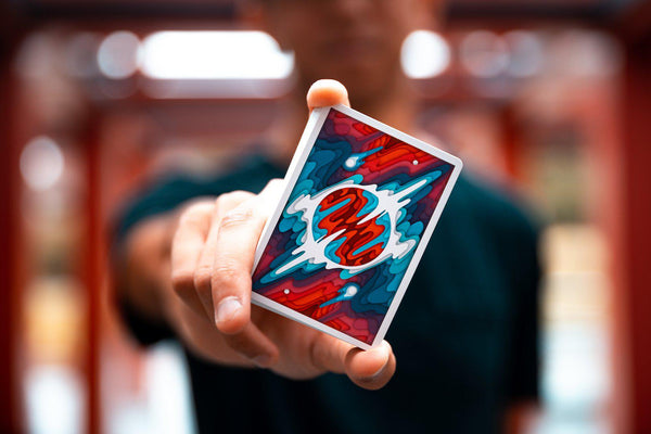 Sirius B Playing Cards Outer Space Cardistry Magic Deck by Riffle Shuffle