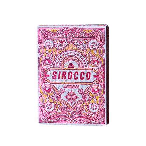 Sirocco Playing Cards Weathered Edition By Riffle Shuffle