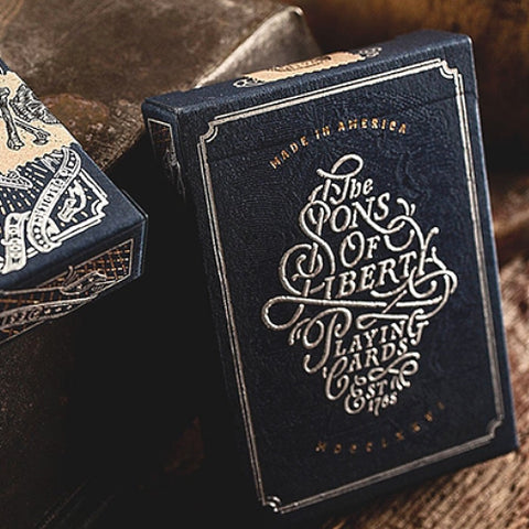 Sons of Liberty Playing Cards America 1765 by Dan & Dave