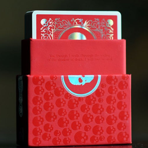 Skull & Bones Playing Cards Special Edition Red with New Perfecta Foil