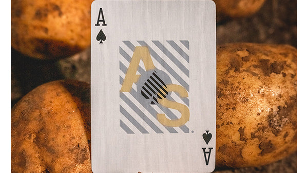 Spud Revision Playing Cards inspired by Typography and Streetwear
