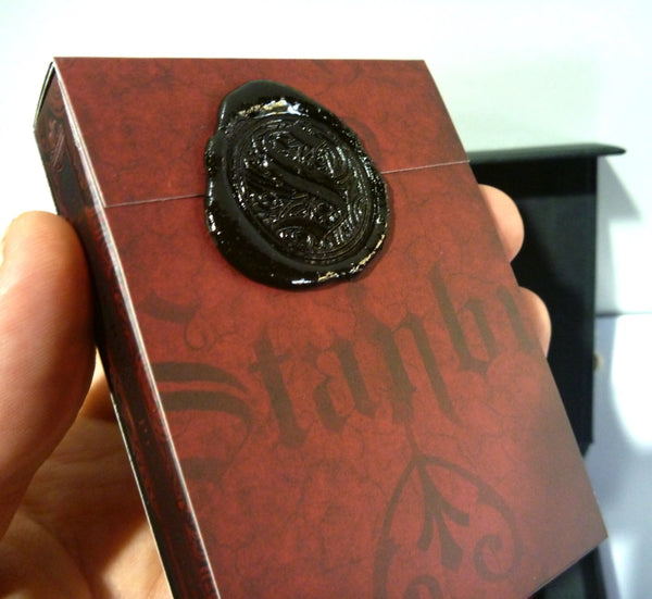 Stanbur Royal Playing Cards Black Sealed Limited Edition Designed in Italy