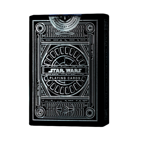 Star Wars The Dark Side Playing Cards Silver Special Edition Empire by Theory 11