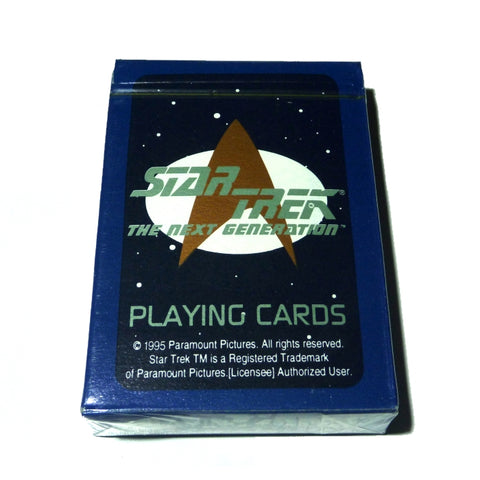 Star Trek Playing Cards Picard Vintage Rare The Next Generation Enterprise Deck