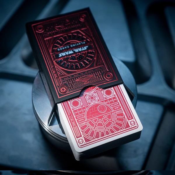 Star Wars Playing Cards Official Empire Dark Side (Pre-Order)