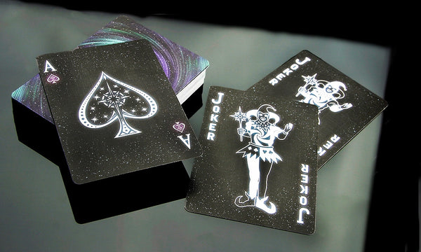 Buyworthy:Starlight Black Hole Playing Cards Poker Magic Deck Galaxy Stars Brand New