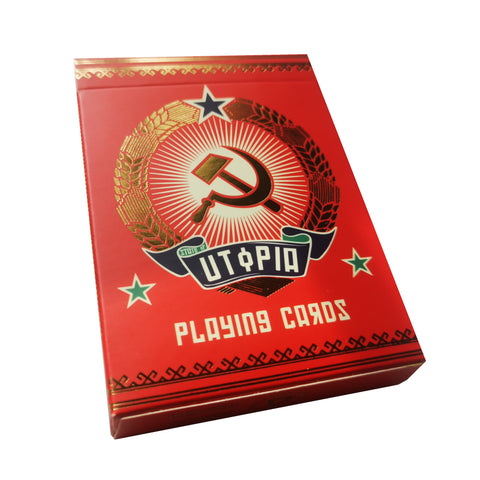 State of Utopia Playing Cards 20th century Communist propaganda deck
