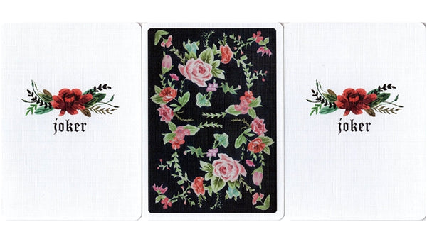 Sub Rosa Playing Cards Floral Deck Linen Finish