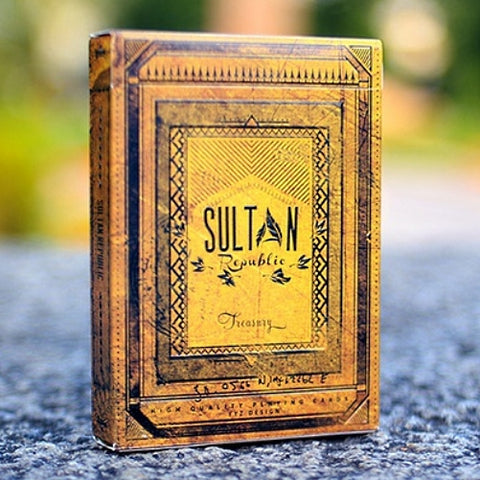 Sultan Republic Treasury Playing Cards Rare Limited Edition Ellusionist Deck