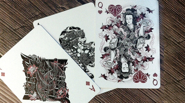 Sumi Playing Cards Bicycle Edition Japanese Tattoo Art
