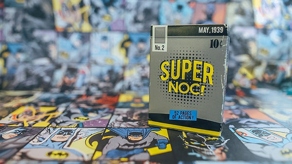 Super NOC Playing Cards V2 BATNOCs Batman Marked Deck