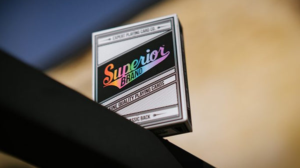 Superior Playing Cards Rainbow Edition by EPCC Classic Back Master Finish