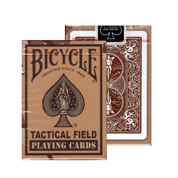 Tactical Field Playing Cards V2 Desert Camo Military Army Deck