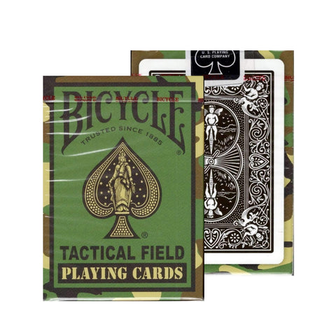 Tactical Field Playing Cards V2 Green Camo Military Army Deck