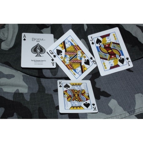 Tactical Field Playing Cards Military Extreme Weather Custom Army Deck