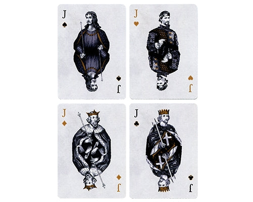 Tally-ho British Monarchy Playing Cards Luxury Linen Finish by Luxx