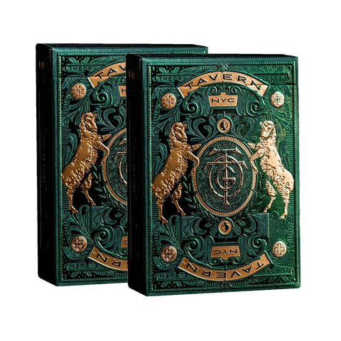 Tavern on the Green Playing Cards by Theory 11 Luxury Rare 2-Deck Set