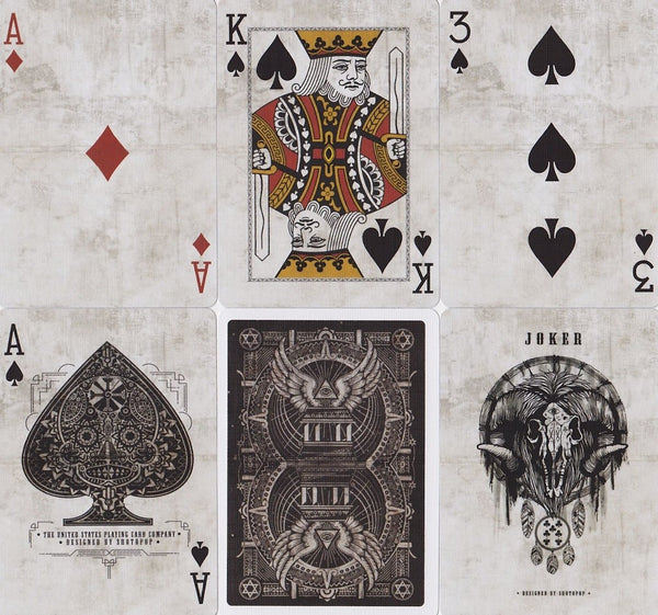 Templar Playing Cards Brown Limited Edition designed in London