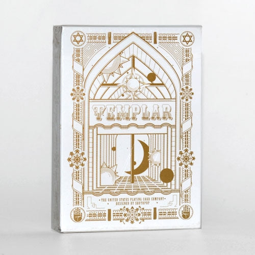 Templar Playing Cards Gold & Brown Limited Editions Set ~ 2 Decks