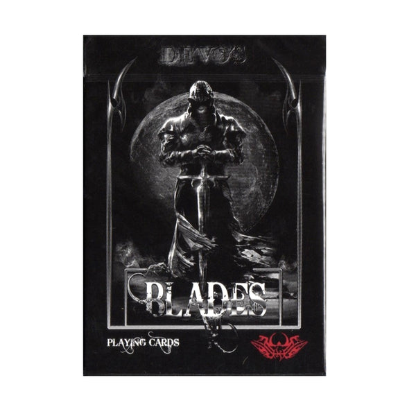 Blades Blood Moon Playing Cards by De'vo The Master Series
