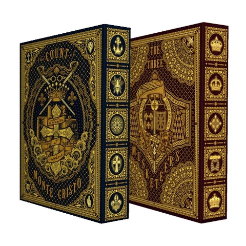 The Three Musketeers & Count of Monte Cristo Playing Cards 2-Decks