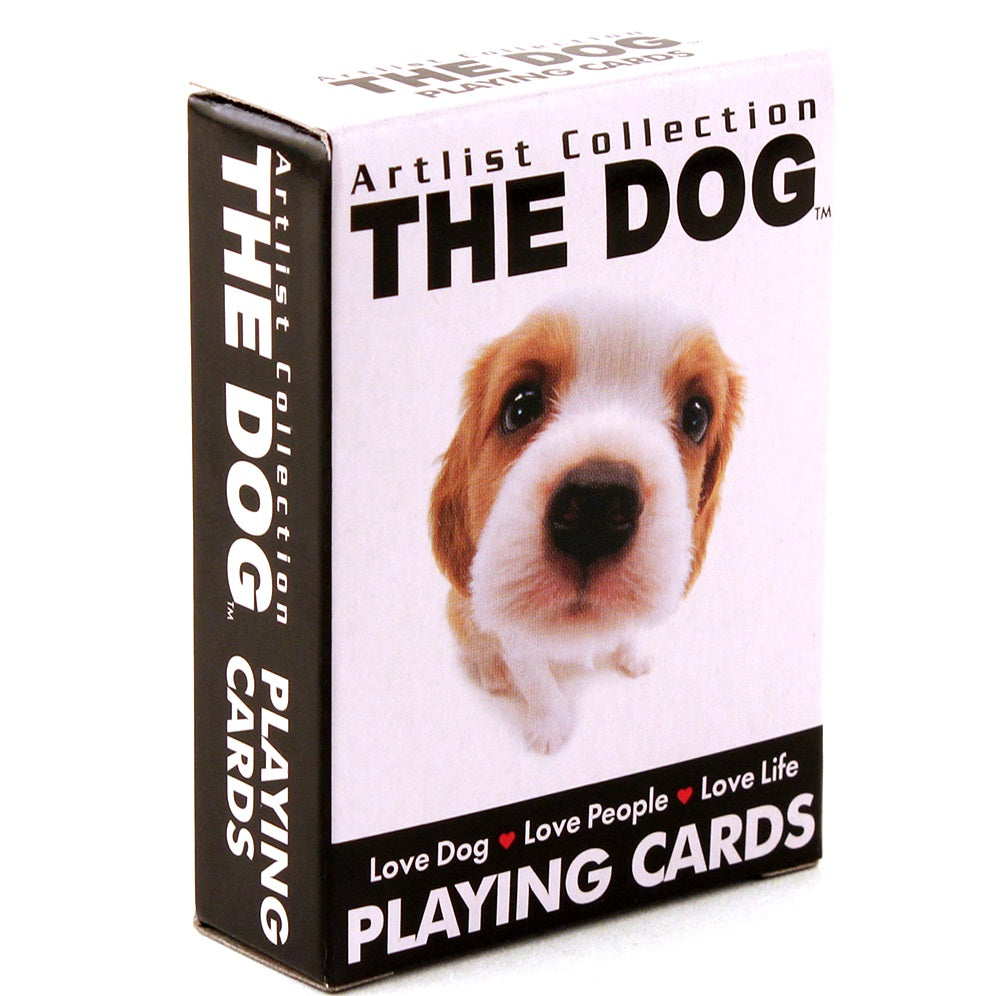 The Dog Mini Playing Cards deck 2010 version by Bicycle