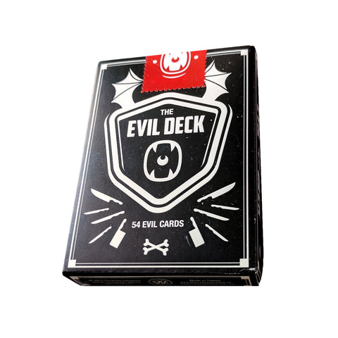 The Evil Deck Playing Cards Rare by Thirdway Industries Italy