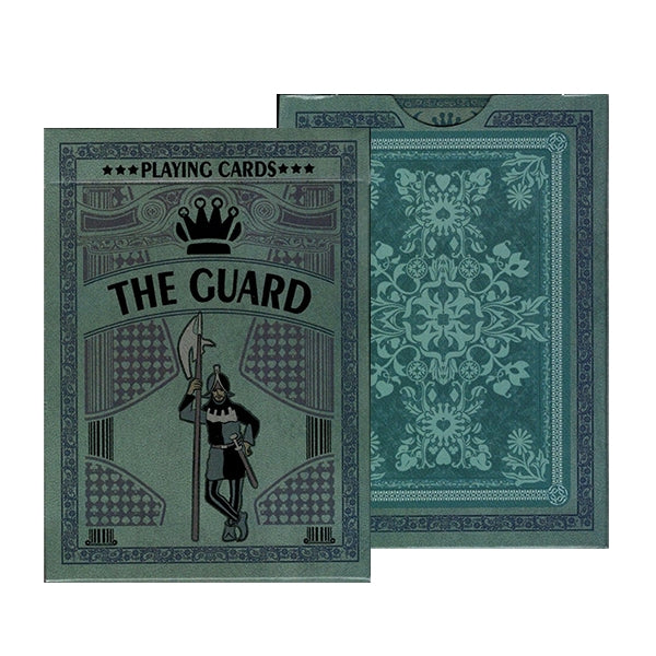 The Guard Slate Playing Cards Limited Edition deck designed in Europe