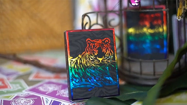 The Hidden King Rainbow Playing Cards Luxury Edition by BOMBMAGIC