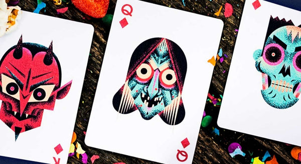 The Little Deck of Horrors Playing Cards by Ellusionist