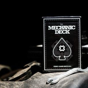 The Mechanic Deck Playing Cards Poker 1st Edition ~ Fixing Games Since 2012