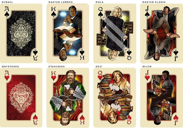 The Name of the Wind Playing Cards Chandrian Exclusive Alternative Edition