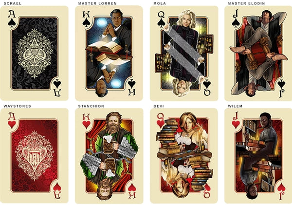 The Name of the Wind Playing Cards Selas Alternative Edition