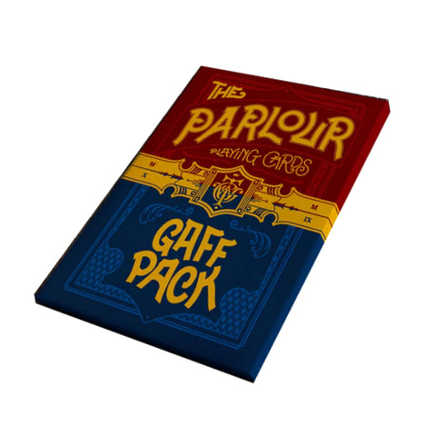 The Parlour Playing Cards Gaff Pack for Magicians Cardists and Performers