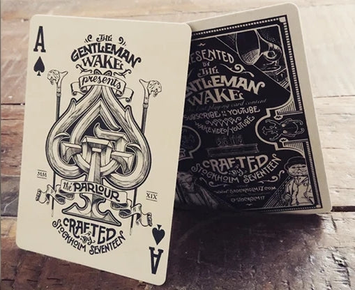 The Parlour Playing Cards Red Edition by Stockholm17 x Gentleman Wake