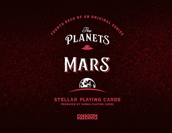 The Planets Mars Playing Cards Vanda Artist Series Holographic Foil