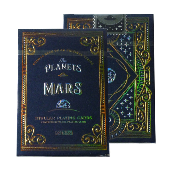 The Planets Mars Playing Cards Limited Edition Very Rare by Vanda