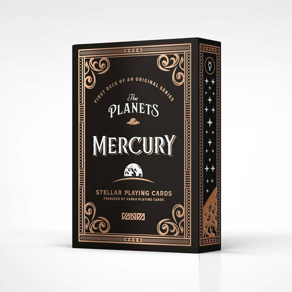 The Planets Mercury Playing Cards Vanda Artist Series