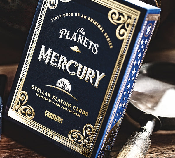 The Planets Mercury Playing Cards Limited Edition Very Rare by Vanda