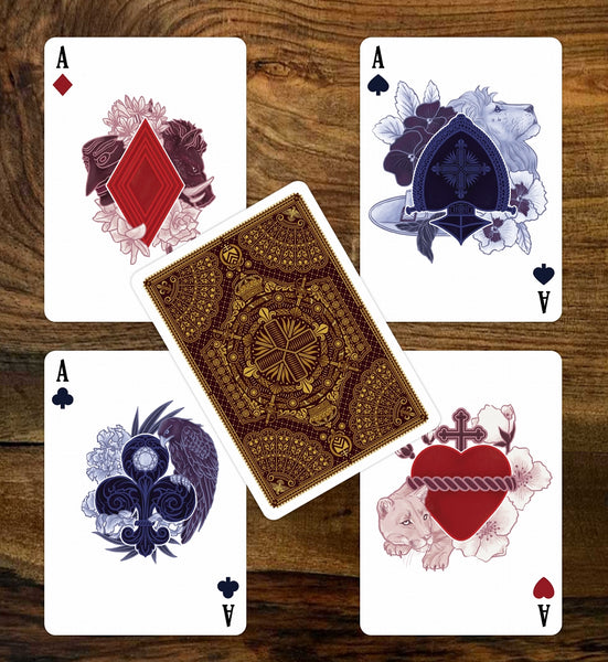 The Three Musketeers & Count of Monte Cristo Playing Cards 2 Decks
