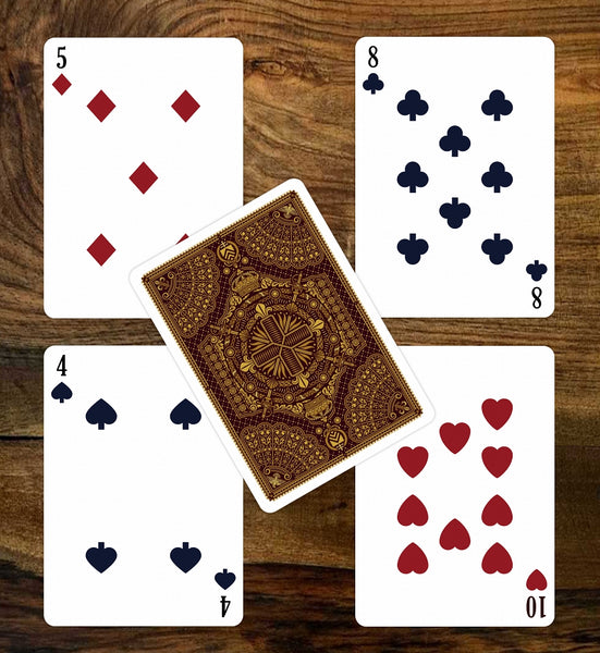 The Three Musketeers Playing Cards Limited Edition by Bona Fide