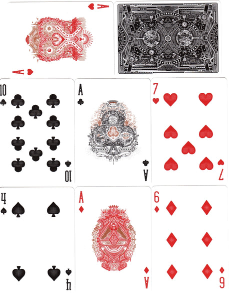 Contraband Playing Cards Theory11 Gold Foil Embossed Deck