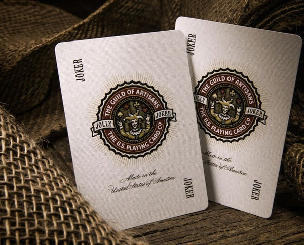 Artisan Playing Cards Black & White Editions Gloss Black Wooden Box