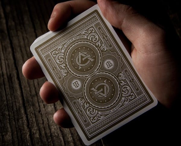 Artisan White Playing Cards Artisans by Theory 11 Luxury Embossed Tuck