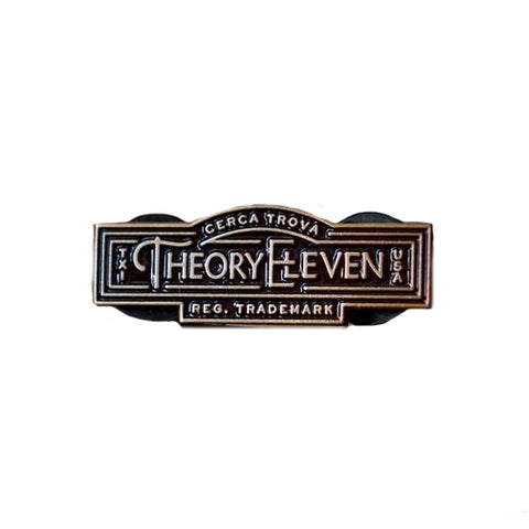 Theory11 Badge Cast Metal Collectable Merchandise
