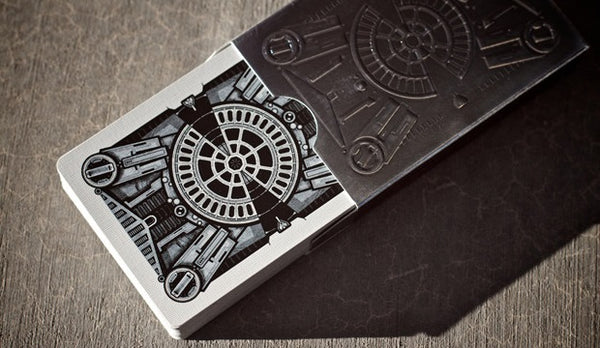 DeckOne Playing Cards Industrial Edition Silver Theory 11