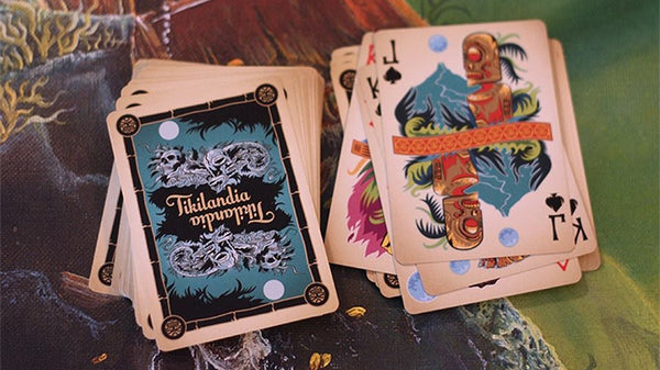 Tikilandia Playing Cards Tiki Art Deck