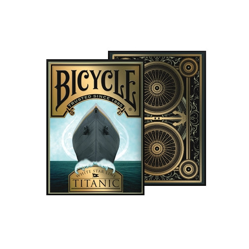 Titanic Playing Cards White Star Line Life Edition Deck