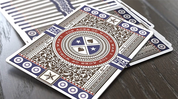 Top Aces of WWI Playing Cards deck by Black Ink