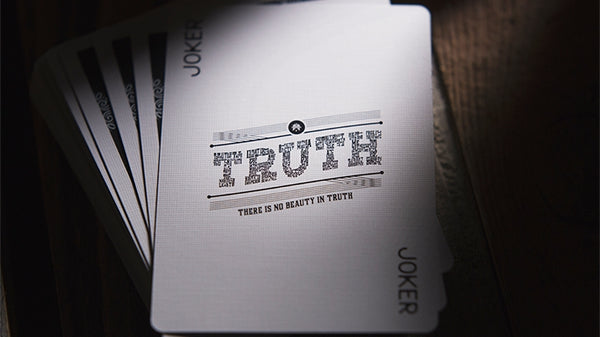 Truth Playing Cards Lies require commitment Deck